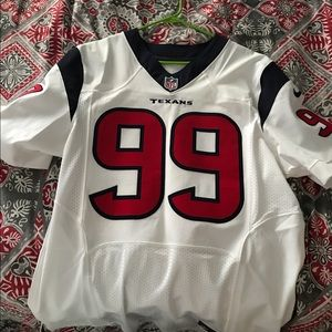 Houston Texans on field size 44 Jersey